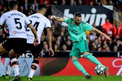 التشكيل المتوقع للفريقين لمباراة ريال مدريد ضد فالنسيا فى الدوري الإسباني