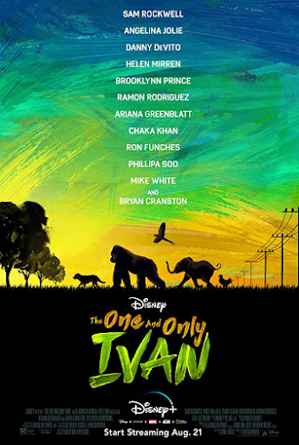 The One And Only Ivan (Web-DL 720p Dual Latino / Ingles) (2020)