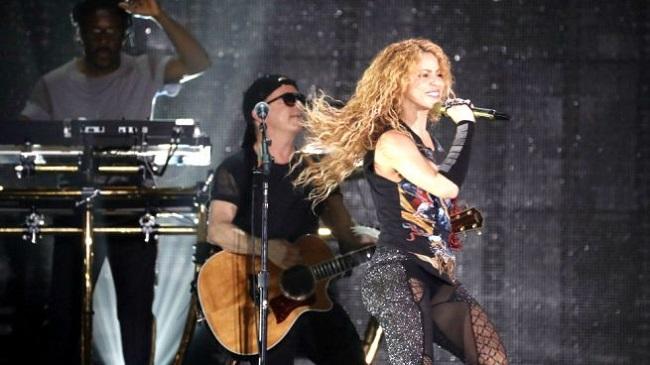 Shakira dio un increíble recital en España