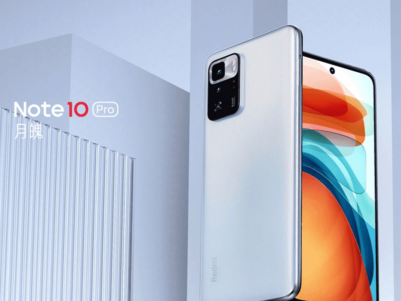 Redmi Note 10 Pro 5G with Dimensity 1100 and 120Hz display announced in China!