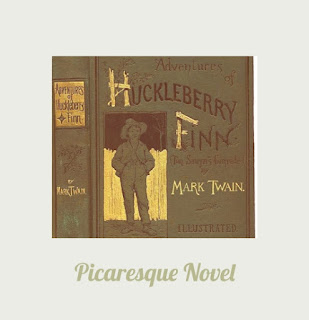 Huckleberry Finn as a Picaresque novel , Picaresque tradition of Huckleberry Finn notes, Mark twain