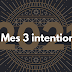 Mes 3 intentions pour 2021