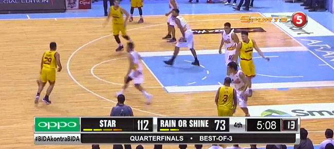 Star Hotshots def. Rain or Shine, 118-82 (REPLAY VIDEO) QF Game 1 / June 5