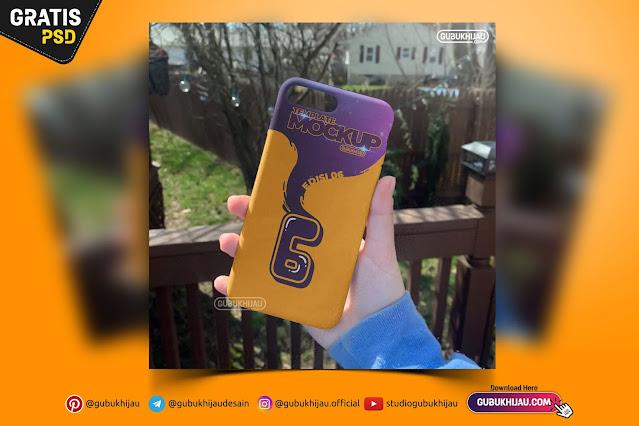 Mockup Hardcase iPhone 8 Plus