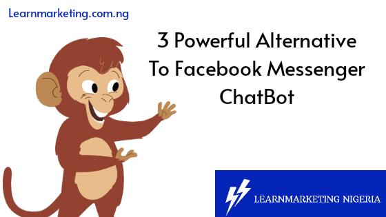 Facebook messenger chatbot alternatives