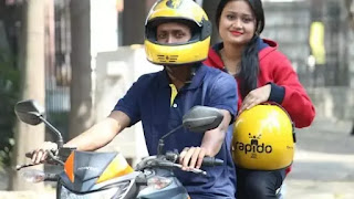 Earn money by riding your motorcycle as a taxi