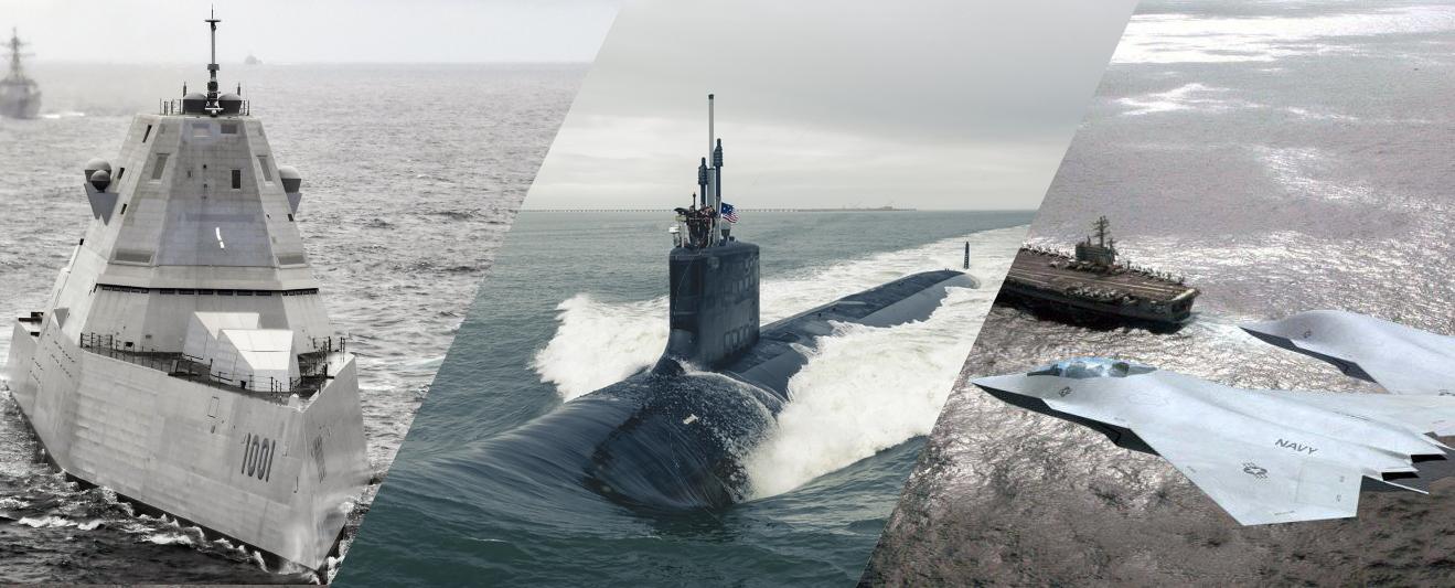 ВМС США обиратимуть між перспективним есмінцем DDG(X), субмариною SSN(X) та винищувачем NGAD