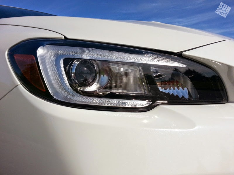 2015 WRX LED headlamp