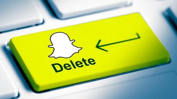 طريقة حذف حساب Snapchat