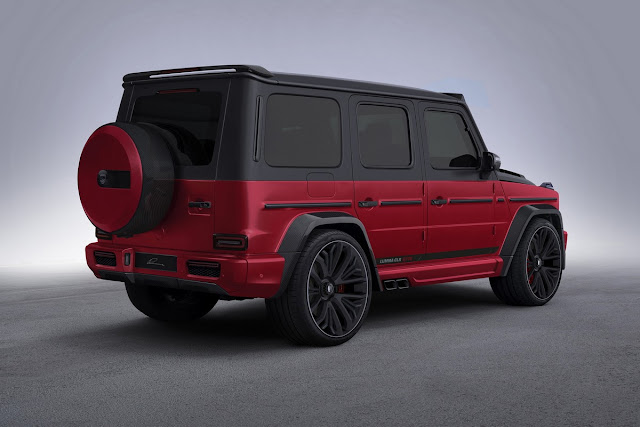 Mercedes AMG G63 Tuned by Lumma Designs