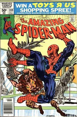 Amazing Spider-Man #209, Kraven the Hunter