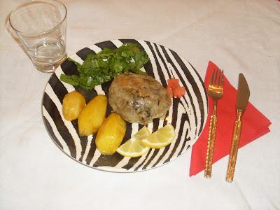 Παραδοσιακό Θρακιώτικο γιορτινό φαγητό του Πάσχα με εντόσθια και ρύζι ,μπολικα μυρωδικα και πολλη αγάπη