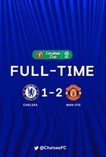 cuplikan gol chelsea vs manchester united 1-2