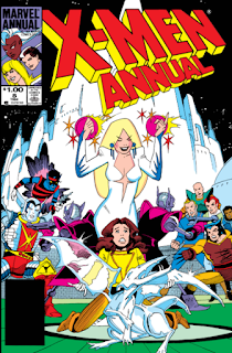 Cover of X-Men Annual #8