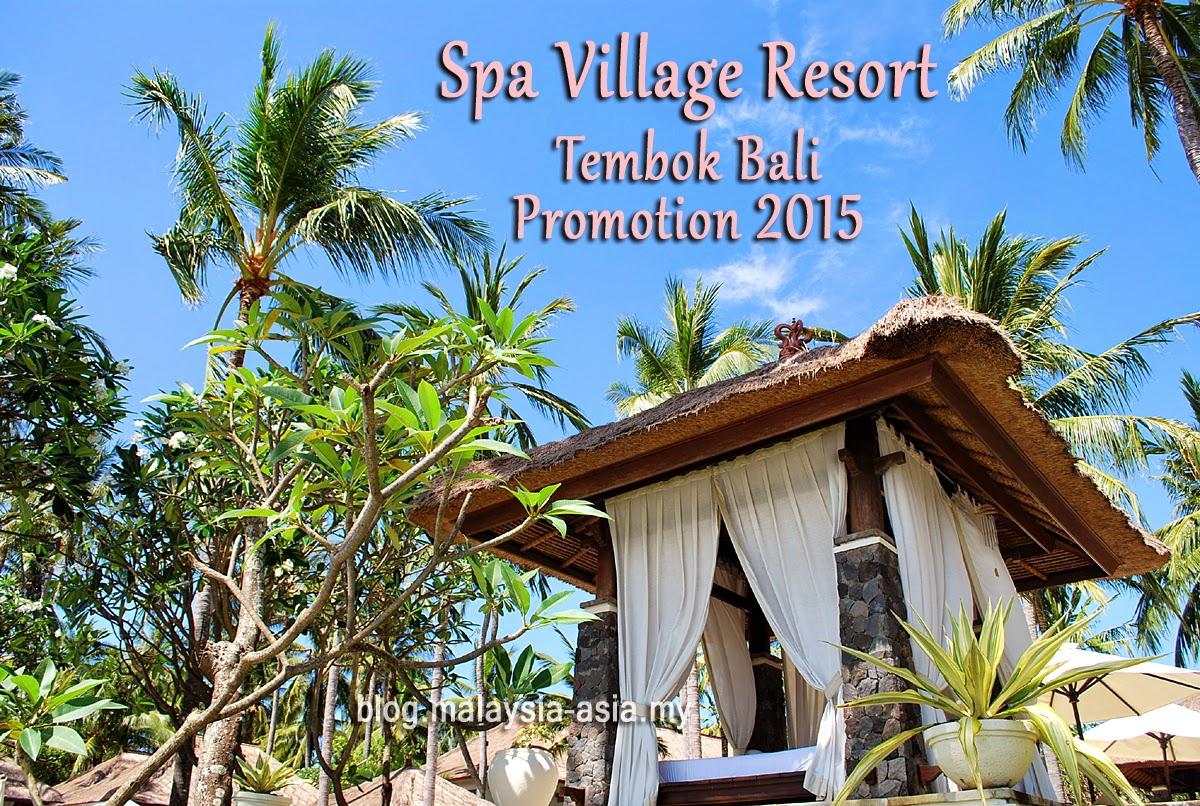 Spa Village Resort Tembok Bali Offer