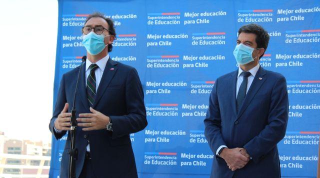 Raúl Figueroa y Cristián O´Ryan