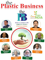 "Article of Shri Babubhai Patel in ""The Plastic Business Magazine"""
