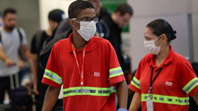 Brasil ya supera a China en número de decesos por coronavirus