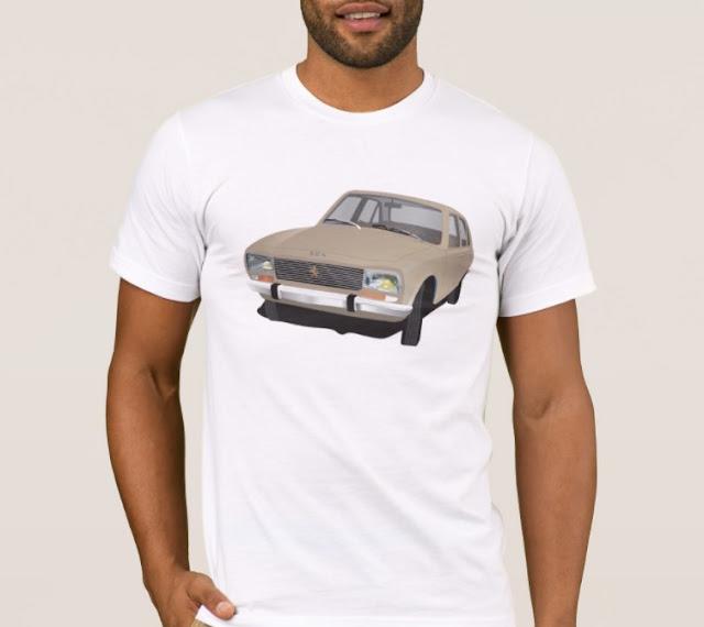 Peugeot 504 lover t-shirt