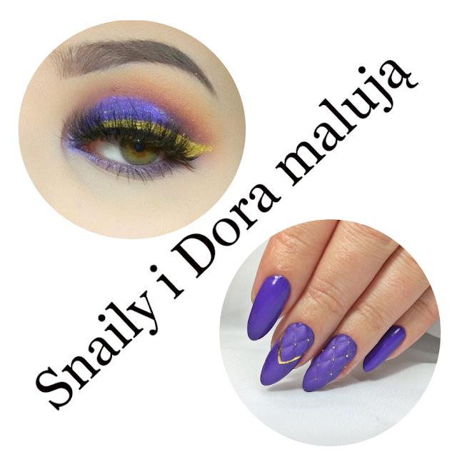 Snaily i Dora malują - Fiolet