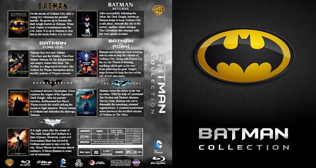 Batman Legacy (1989-2012) Bluray Cover