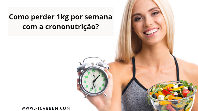 A crononutrição é dividido em três refeições principais