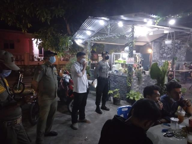 Razia Tempat Hiburan Dan Tempat Keramaian Dilakukan Personel jajaran Kodim 0207/Simalungun