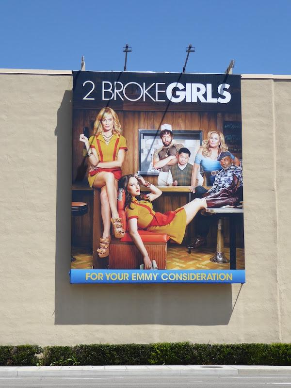 2 Broke Girls 2016 Emmy FYC billboard