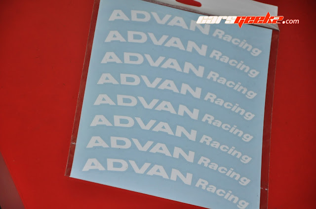 Advan Racing Sticker