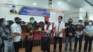 Kunker Ke Tanah Karo,Ketua DPD RI Diberi Marga Sitepu