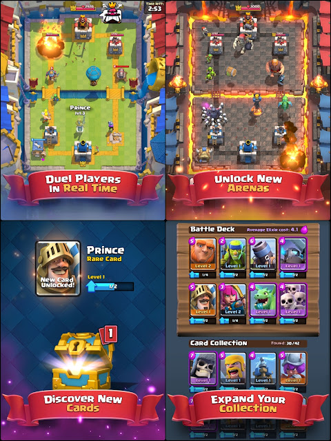 Download Clash Royale v1.2.3 for Android APK Terbaru