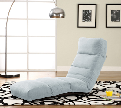 Relaxing Living Room Design With Sofa Chair Bed