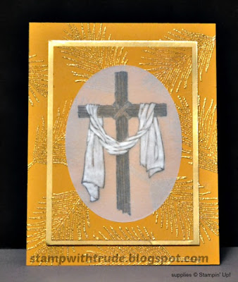 Easter, Resurrection, Easter Message, Stamp with Trude, Stampin' Up!, Tuesday Tutorial