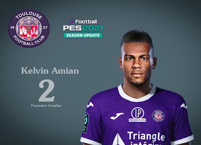 PES 2021 Faces Kelvin Amian by CongNgo