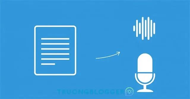 Thêm nút chuyển văn bản thành giọng nói cho Blogspot
