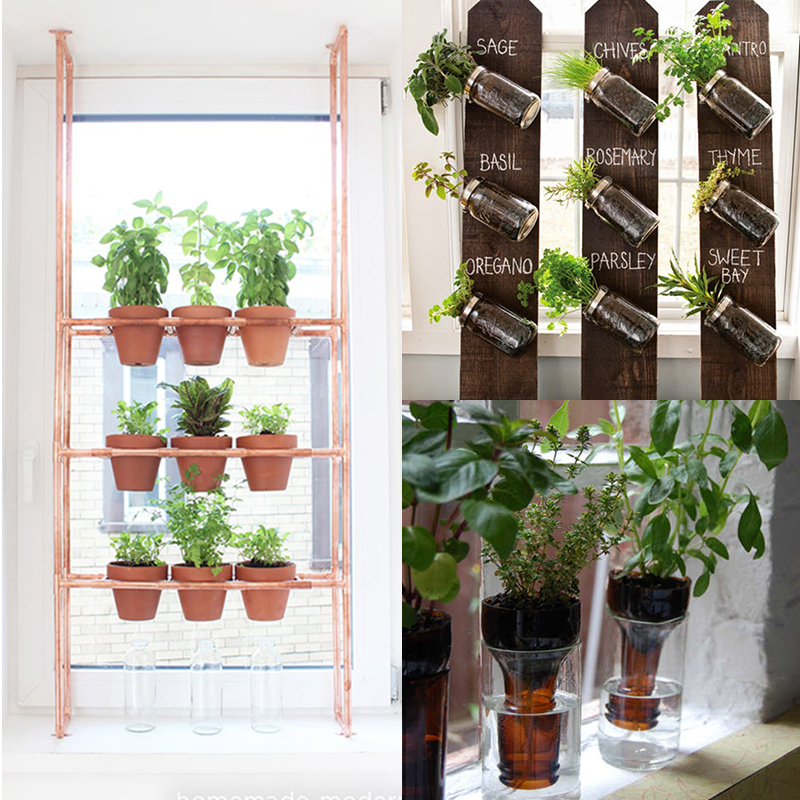 Indoor Garden Ideas: DIY To Try # Indoor Herbs Garden