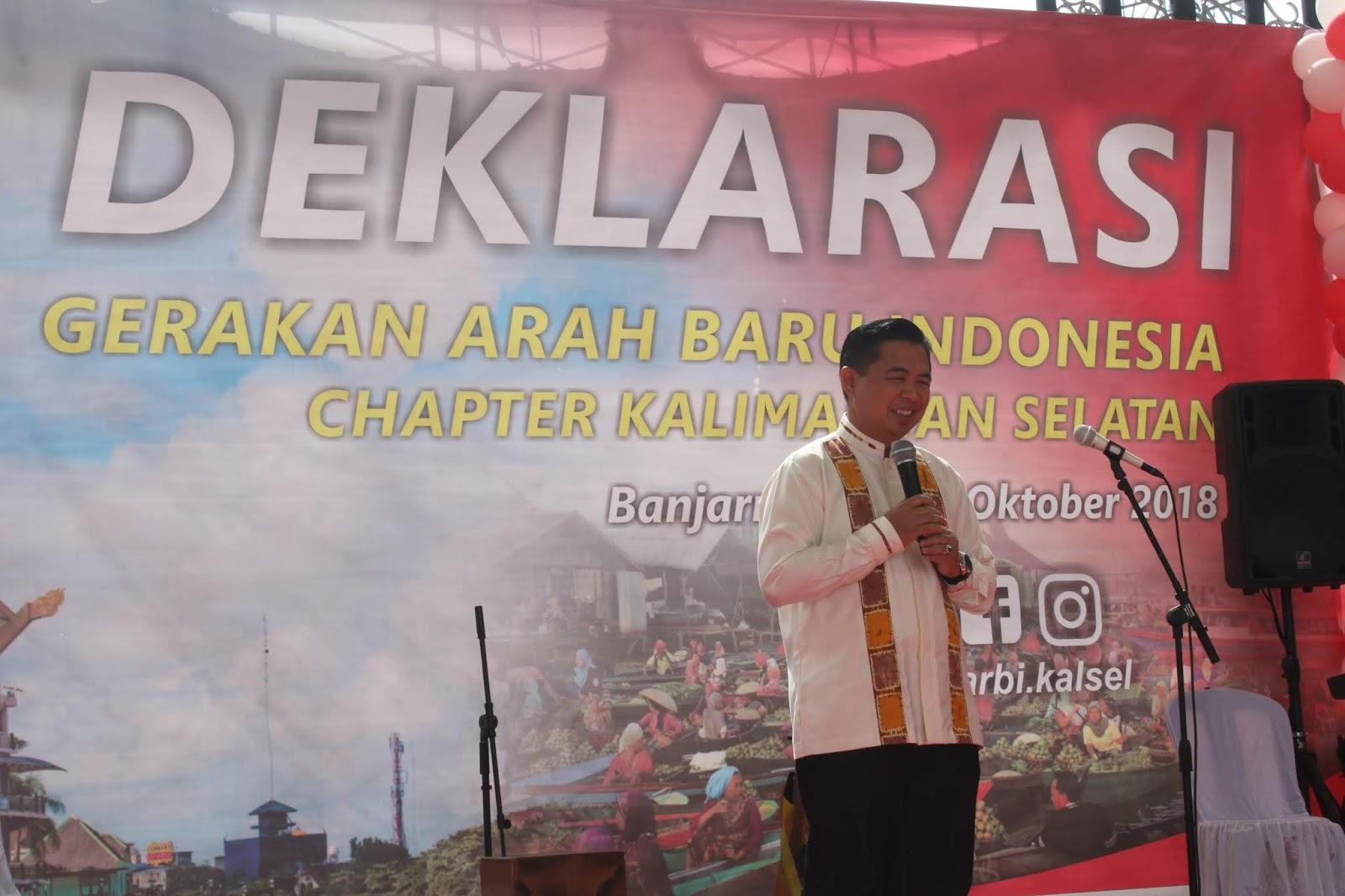 Garbi Kalsel Resmi Deklarasi Wali Kota Banjarmasin Semoga Membawa Kain Nilai Positif