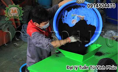 Dây chuyền sản xuất viên phân bón hữu cơ