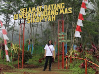 Pudang Mas Sikopyah, a new Destination in the tourism village Attack