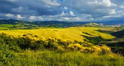 Paisaje de la Toscana, Italia