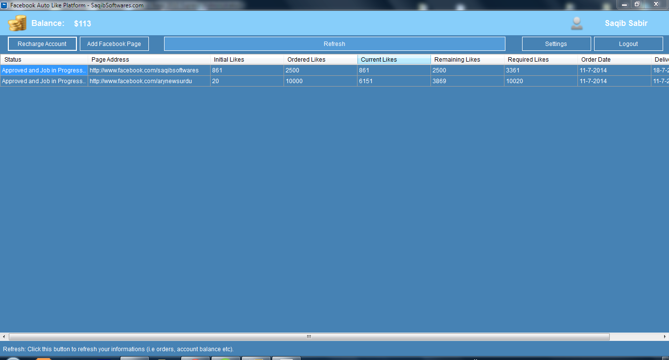 Facebook Auto Like Platform Software Free Download   Saqib Softwares