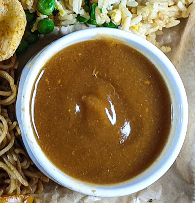 Chinese Fakeaway Platter Recipe curry sauce