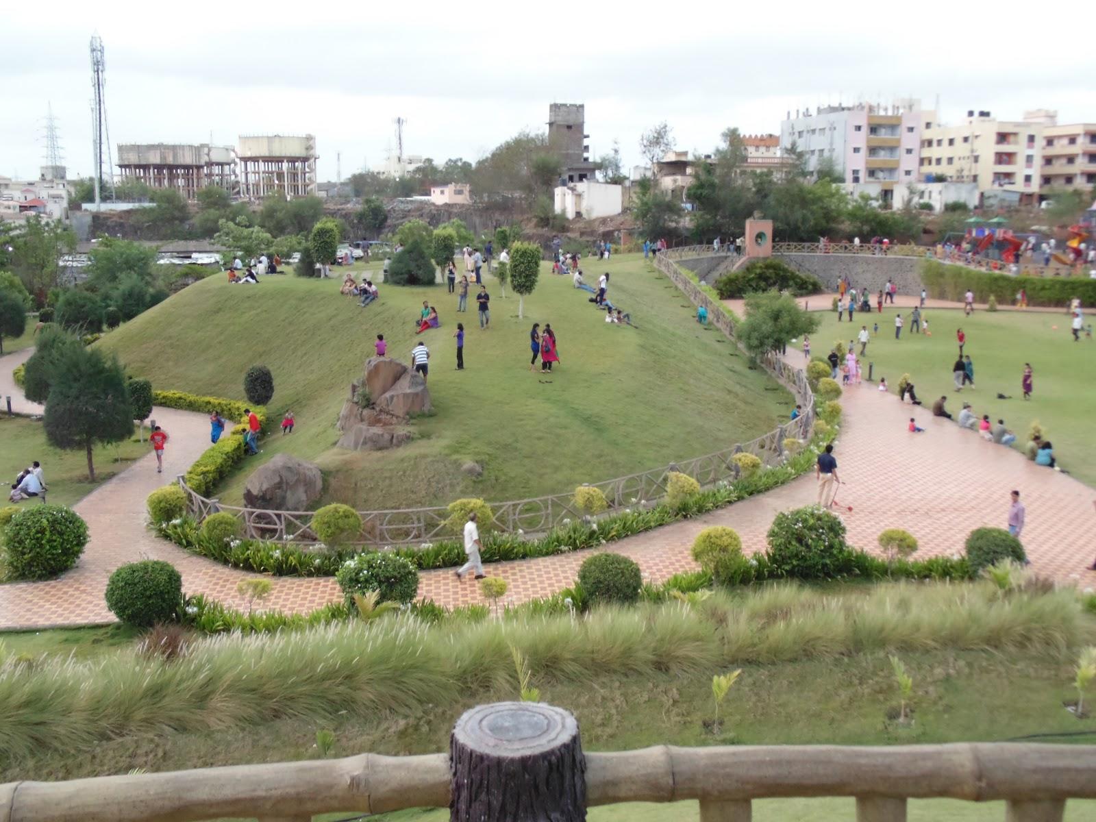 SavitriBai Phule Garden (Udyan) - A nature place for relaxation near pune