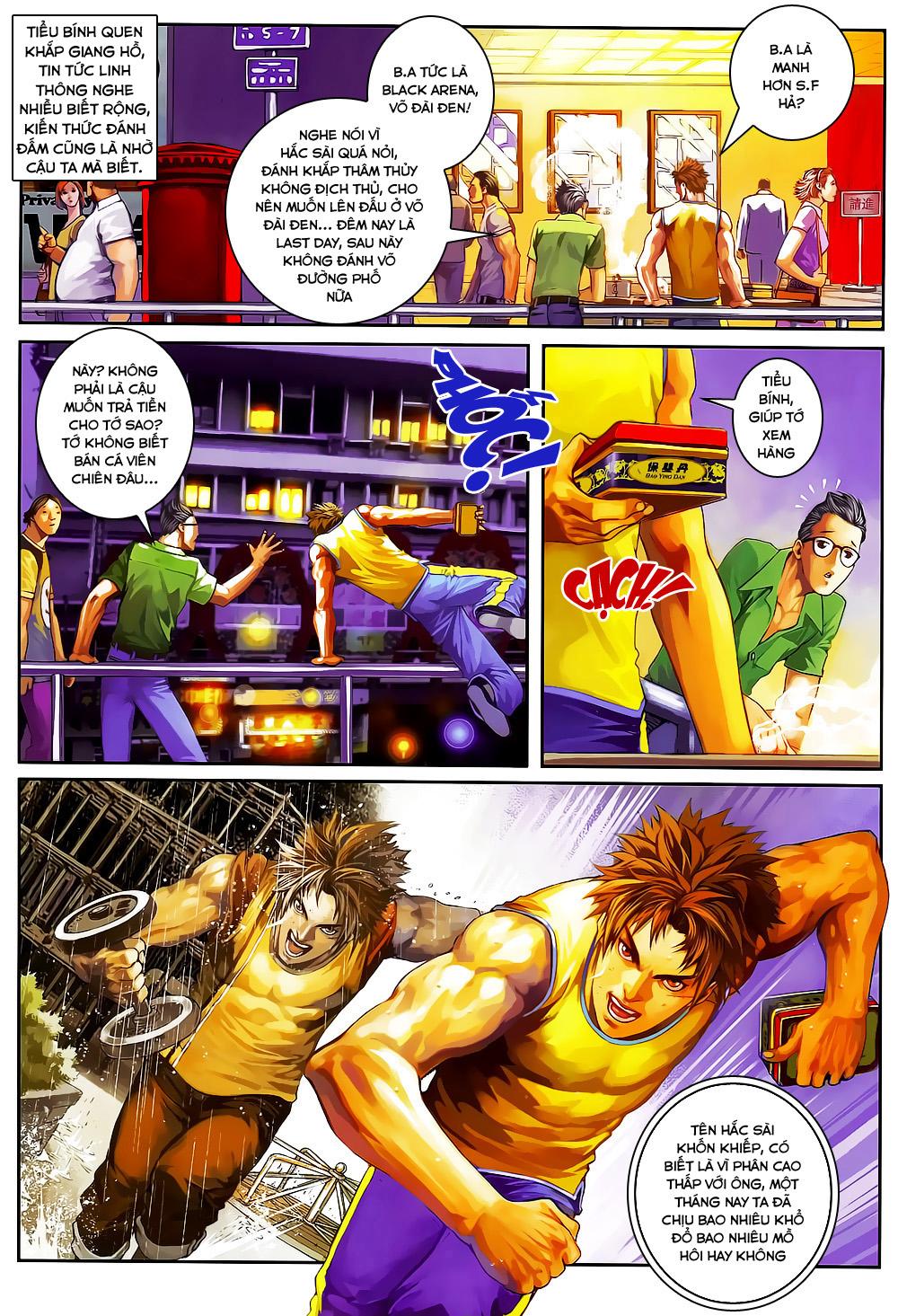 Quyền Đạo chapter 2 trang 7