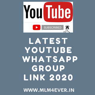YouTube Sub4Sub Whatsapp Group Link 2020