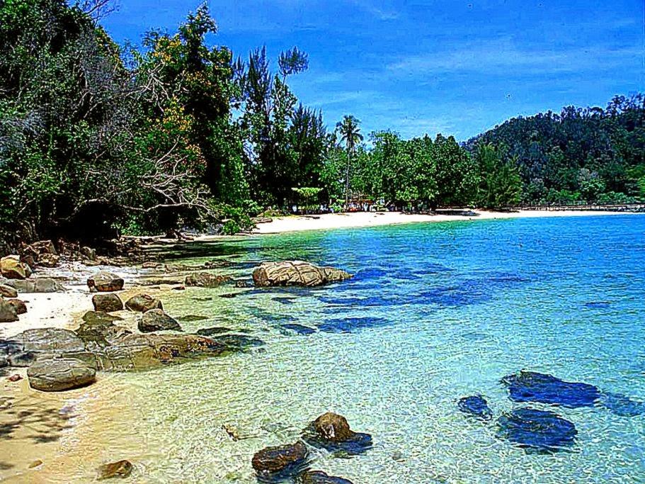 Beach Scene Desktop Wallpaper Tropical Beach Resolution