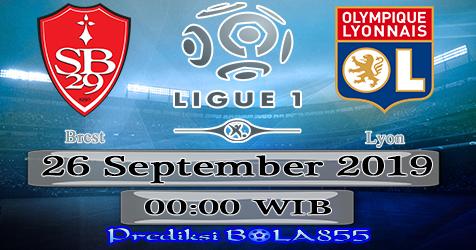 Prediksi Bola855 Brest vs Lyon 26 September 2019
