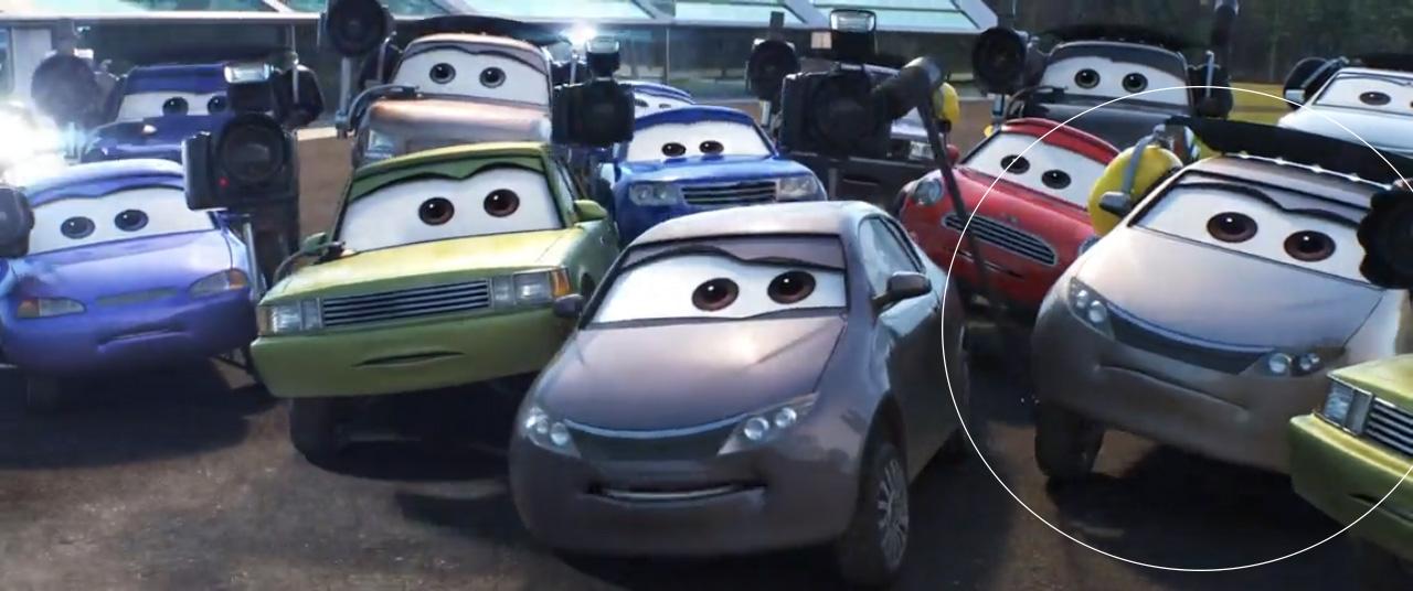 Cars 3 Biz Torqsen diecast