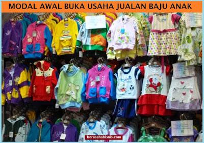 Rahasia Rincian Biaya Modal Usaha Toko Pakaian Anak-Anak Tahap Awal