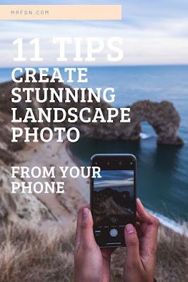 cara membuat foto landscape dengan hp